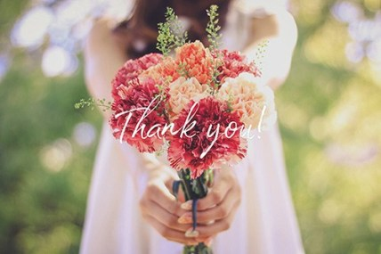 thank‐you-flower